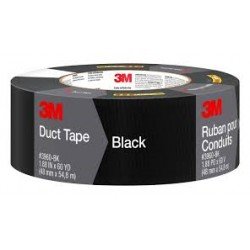 3M DUCT TAPE BLACK 50MMX50MT