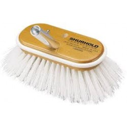 SHURHOLD BRUSH WHITE STIFF 10""