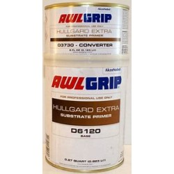 AWLGRIP HULLGARD EXTRA EPOXY PRIMER QUART KIT D3730Q+D6120Q