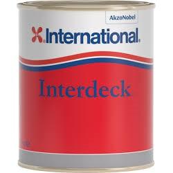INTERNATIONAL INTERDECK NON SKID PAINT 750ML WHITE