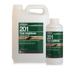 CLIN AZUR 201 TEAK BRIGHTNER STEP 2 - 5L