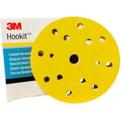 3M DISK HOOKIT 15 HOLES D150MM G400