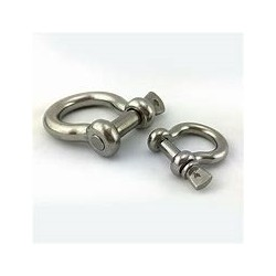 BOW SHACKLE D32MM INOX