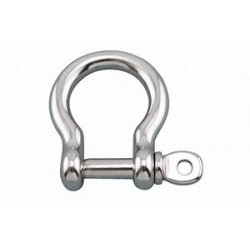 BOW SHACKLE D25MM INOX