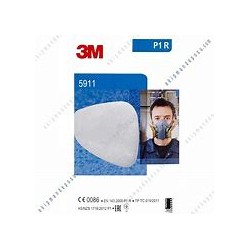 3M PARTICULATE FILTER P1 R TYPE 5911 X2
