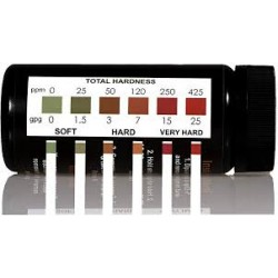 SIMPLEX WATER TOTAL HARDNESS TEST KIT - 50 STRIPS