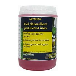 MATT CHEM NETTINOX RUST REMOVER GEL POT 1KG