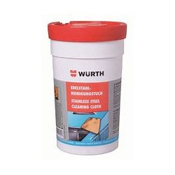 WURTH STAINLESS STEEL CLEANING CLOTH / DISTRINET