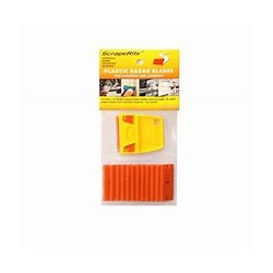 SCRAPERITE RAZOR BLADE ORANGE ALL PURPOSE  5 PACK