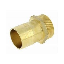"MALE HOSE END 3"" DIAM 80MM"