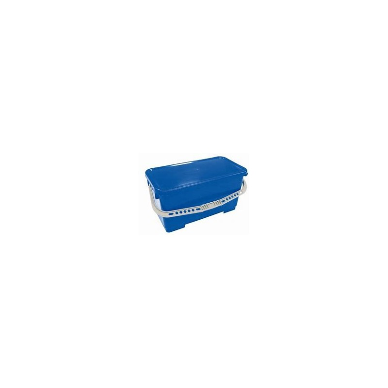 RECTANGULAR BLUE BUCKET 22L