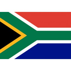 FLAG SOUTH AFRICA 30X45CM