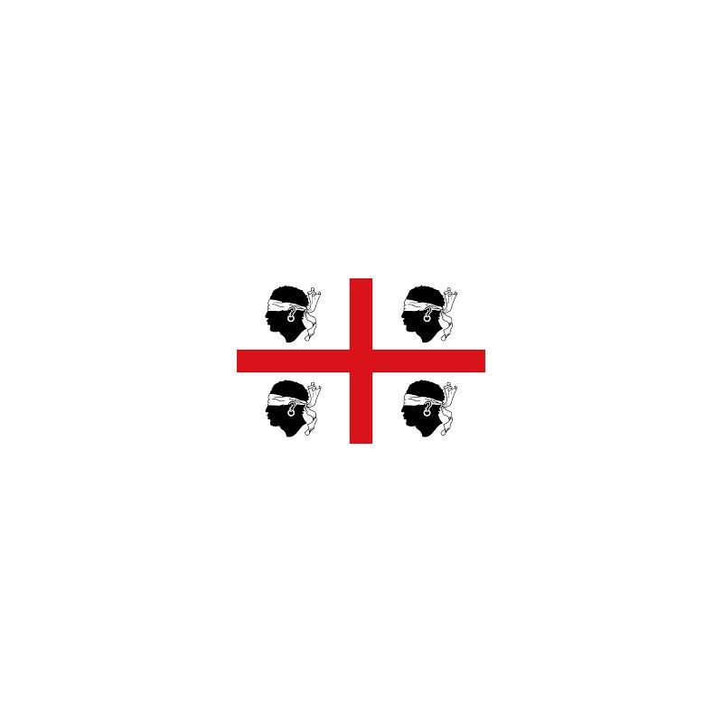 FLAG SARDINIA 30X45CM