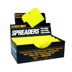 EVERCOAT SPREADER SPATULE YELLOW PLASTIC