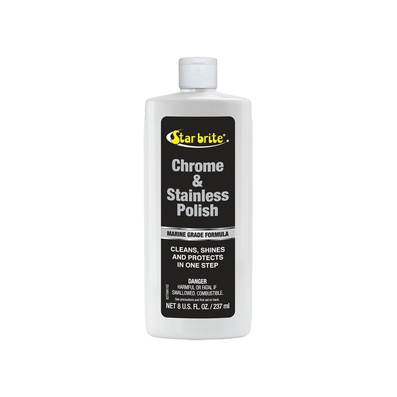 STARBRITE CHROME AND STAINLESS 250ML