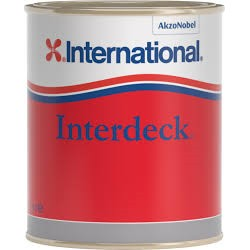 INTERNATIONAL INTERDECK NON SKID PAINT 750ML WHITE