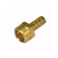 "MALE HOSE END 3/4"" DIAM 19MM"