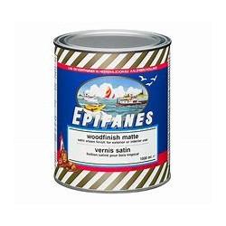 EPIFANES VARNISH WOODFINISH SATIN MATTE 1L