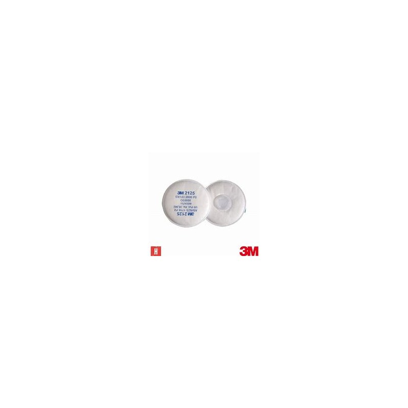3M PARTICULATE FILTER 2125 P2-R/P100 PACK OF 2