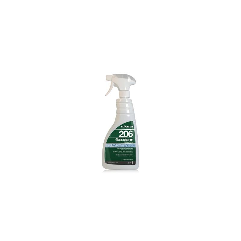 CLIN AZUR 206 GLASS CLEANER 750ML