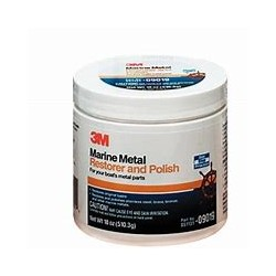 3M METAL RESTORER & POLISH 500ML - 09019