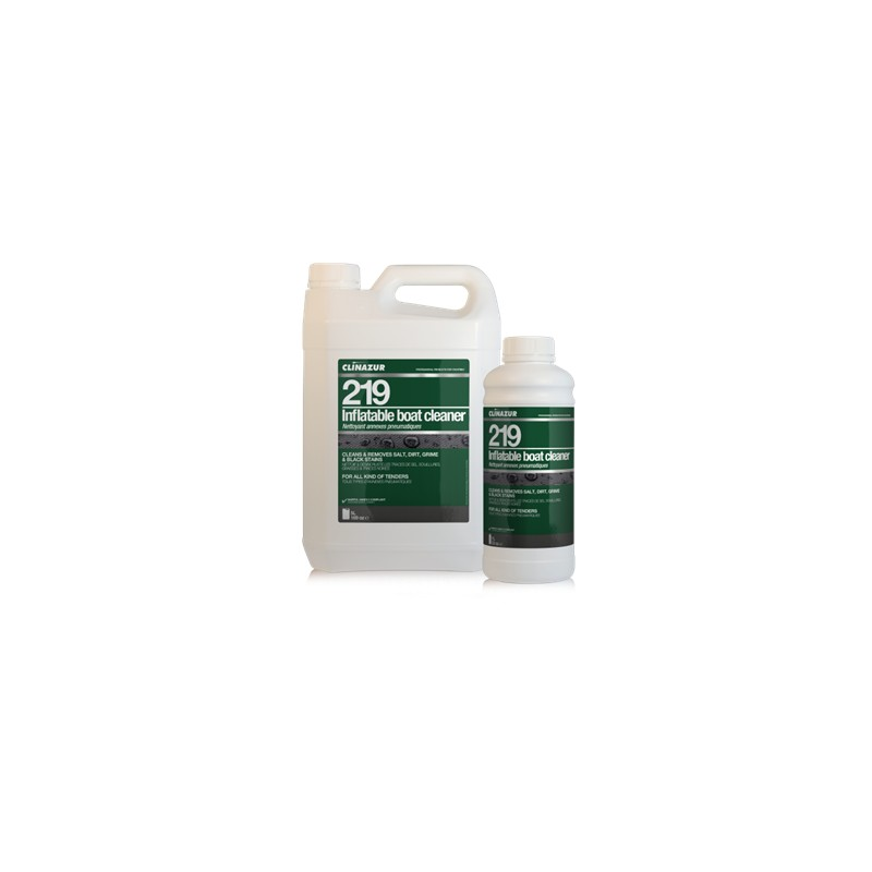 CLIN AZUR 219 INFLATABLE BOAT CLEANER 1L