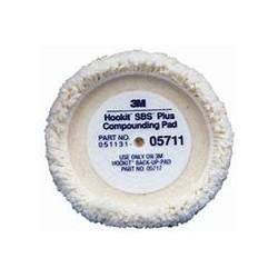 3M WHITE COMPOUNDING PAD  05711
