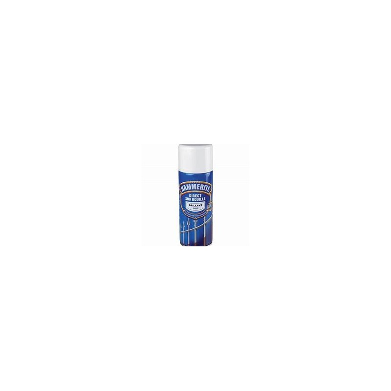 HAMMERITE BLANC BRILLANT SPRAY 400ML