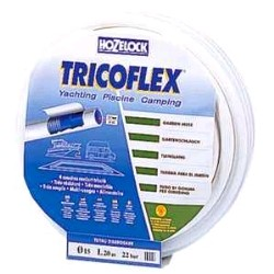 TRICOFLEX YACHTING WHITE HOSE D15  25M
