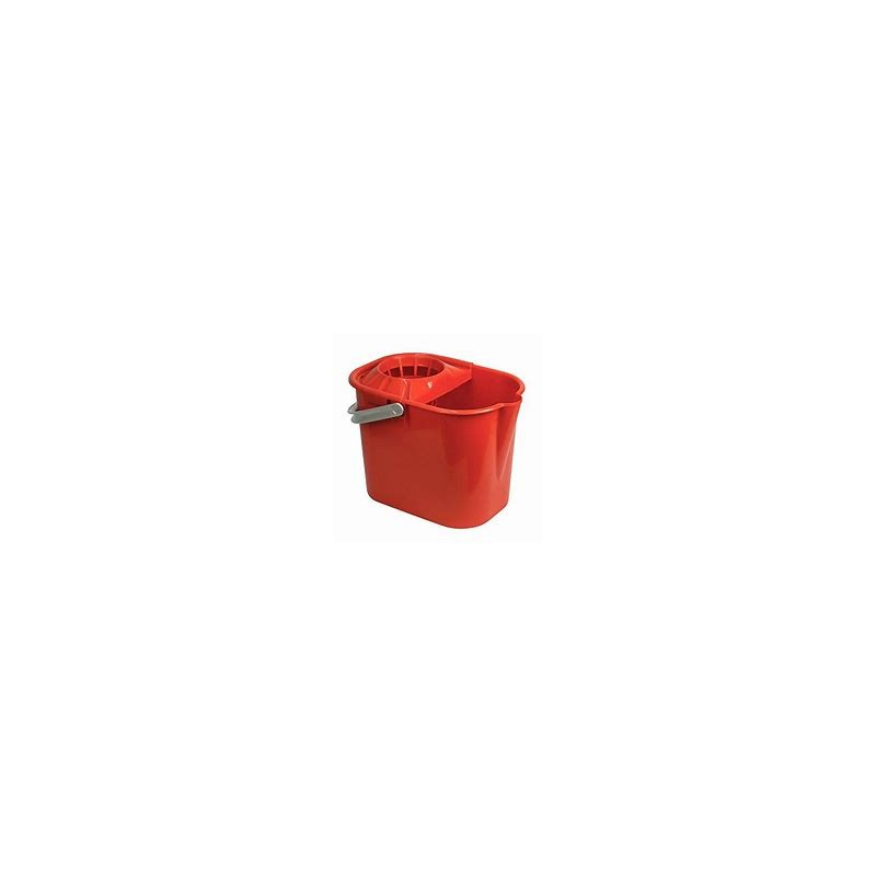 TATAY SQUARE RED BUCKET WITH SQUEEZER